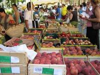 Marché fruits