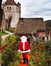 Marché de Noël à Saint-Cirq Lapopie