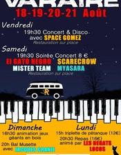 Concerts fete Varaire