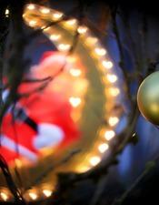 Illuminatiions de Noël à Lunegarde 2015 ©© Laurent Delfraissy 151225-172448