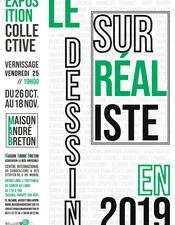 Expo le Dessin Surréaliste en 2019