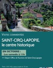 Visite Guidée St Cirq Octobre
