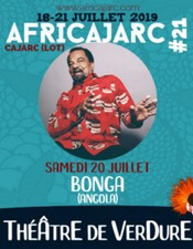 "Concert Africajarc ""Bonga""-""Abou Diarra"" - ""Hommage à Cesaria Evora"""