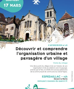 Découvrir et comprendre l'organisation urbaine et paysagère d'un village