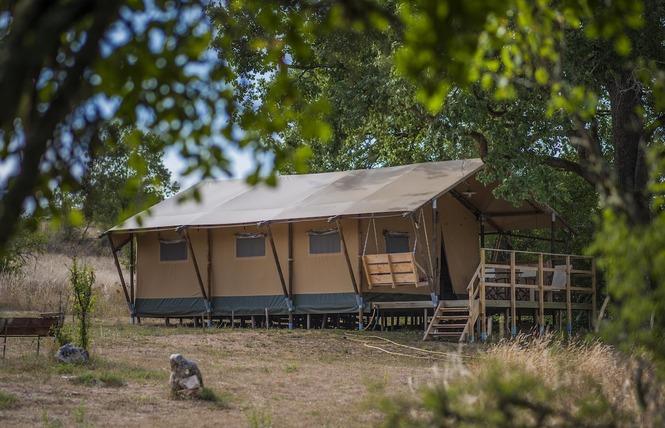 Tente Lodge 1 - Lalbenque