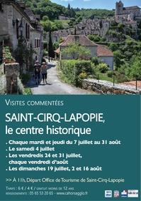 St Cirq Centre historique été