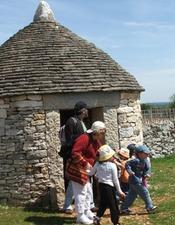 Chasse aux oeufs de Pâques à la Borie Imbert - Rocamadour