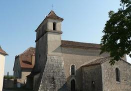 Lentillac du Causse : L'église Saint-Pierre-ès-Liens