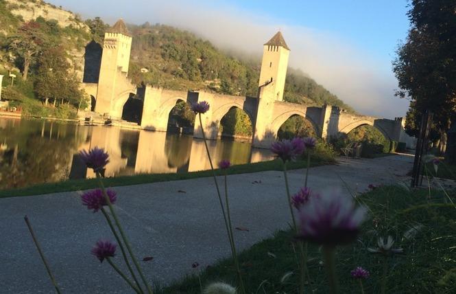 GR36 de Laramière à Bonaguil, par Saint Cirq Lapopie, Cahors et la vallée du Lot 12 - Laramière