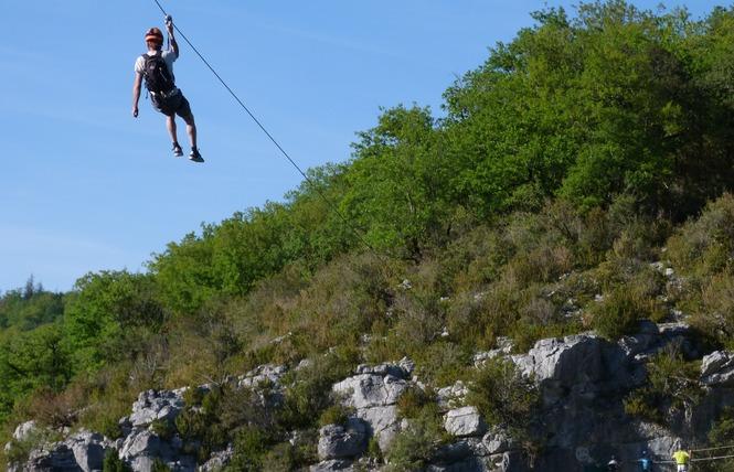 Kalapca Loisirs - Escalade et parcours falaises 3 - Bouziès