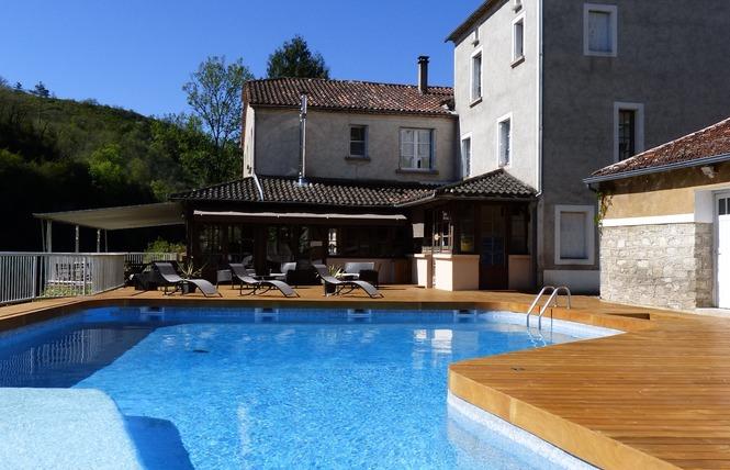 Hôtel Restaurant des Grottes 1 - Cabrerets