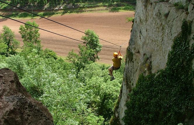 Kalapca Loisirs - Escalade et parcours falaises 1 - Bouziès