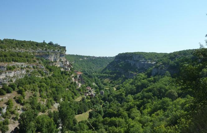 Chemin de Rocamadour et des Deux Vallées 2 - Rocamadour